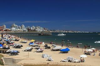 Image of Playa Mansa Mansa Beach near Punta del Este. del uruguay playa punta este mansa