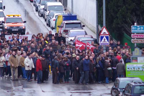 Manifestación Eldon