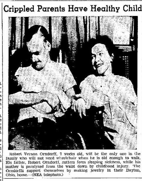 Orndorff, Billings Gazette 1947