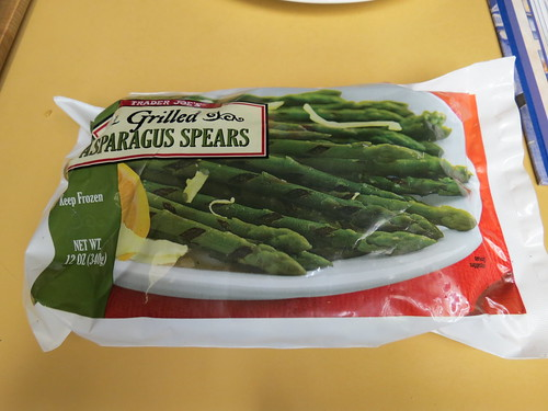 Trader Joe's Grilled Asparagus
