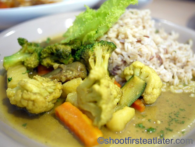 vegetable curry P195