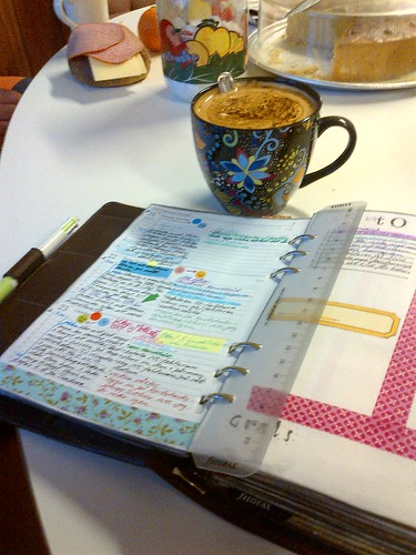 #Filofax and #Coffee