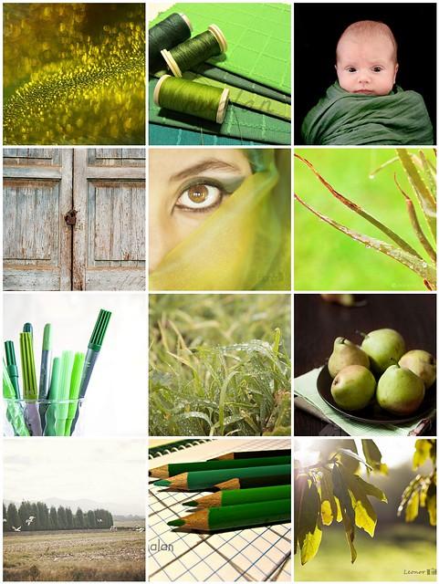Mosaico de Click&Go: Verde