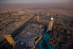 Desert View from 430 Meters Above the Ground