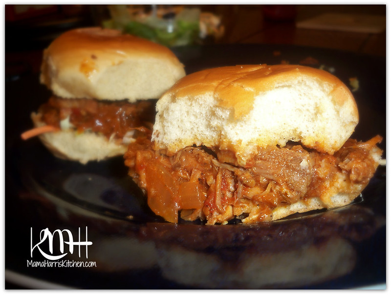 Slow-Cooked Pulled Pork Sliders | Mama Harris' Kitchen