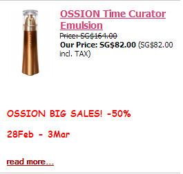 Ossion Time Curator Moisturiser