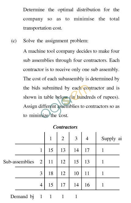 UPTU B.Tech Question Papers - EE-025-Operations Research