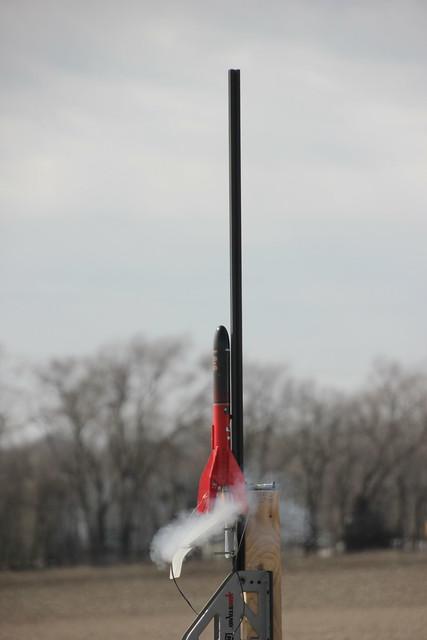 A stubby Big Bertha on a C6-5 rail launch