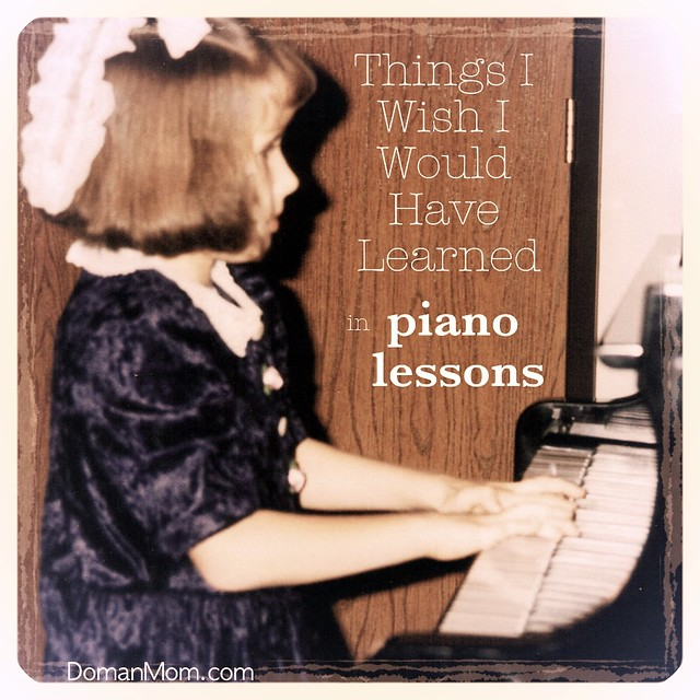 The Things I Wish I Would Have Learned in Piano Lessons