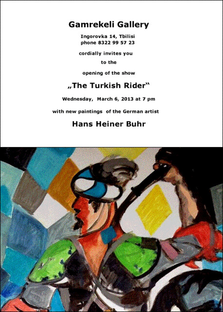 Invitation Gamrekeli Gallery The Turkish Rider b