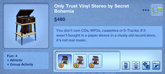 Only Trust Vinyl Stereo by Secret Bohemia