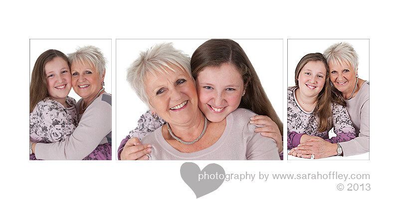Grandmother & Grandaughter Portrait Session