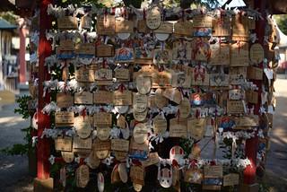 絵馬@大洗磯前神社。
