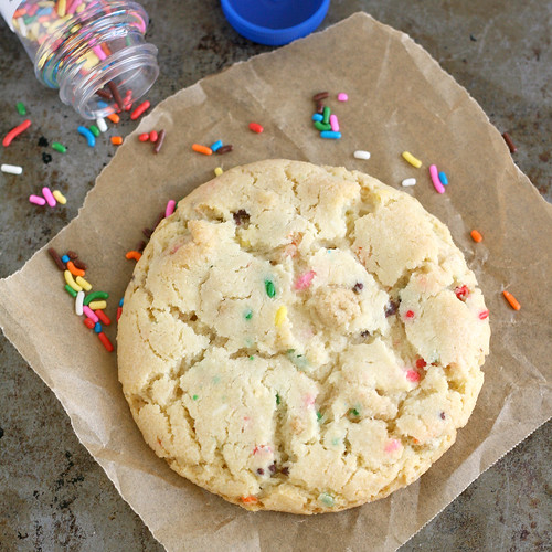 Birthday Cake Confetti Cookies