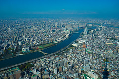 Tokyo from high up