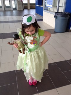 Dr Seuss dress up day - green eggs and ham princess
