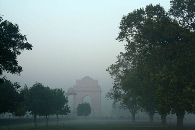 City Season – The Last Mist, India Gate