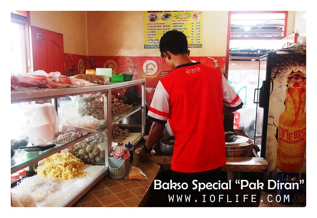 Bakso Special Pak Diran_The seller