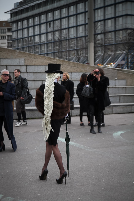 Tuukka13 - Street Style Outside Rick Owens Womens FW 13 RTW Show - Paris Fashion Week -3