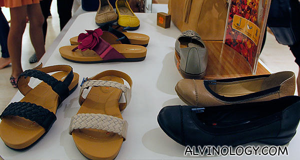 Female shoes and sandals