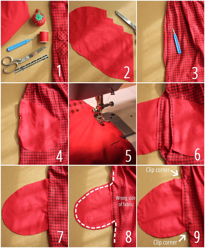 Sewing How To Add Pockets to A Dress: Tutorial