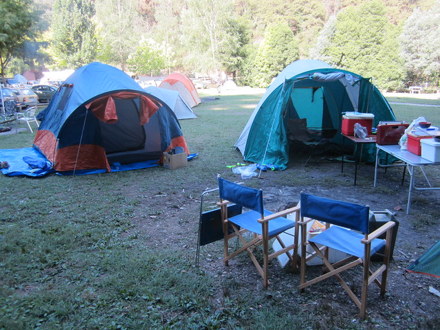 Camping at Walhalla