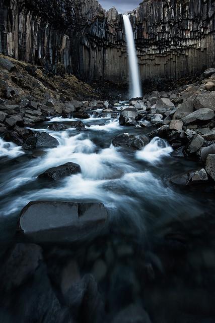 Svartifoss - The Black Falls