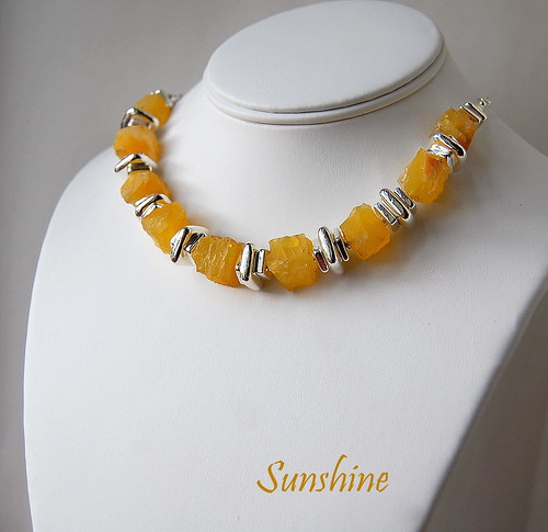 Sunshine Necklace by gemwaithnia