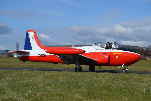 XM479 G-BVEZ Provost T.3A