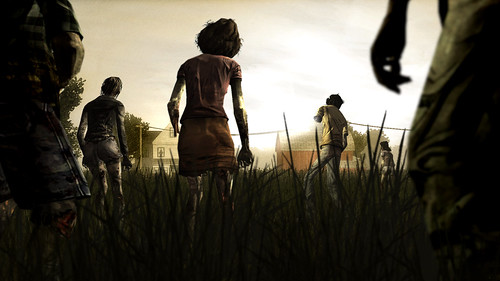 The Walking Dead on PSN