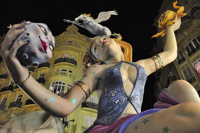 Las Fallas Valencia - Flickr CC Keith Ellwood