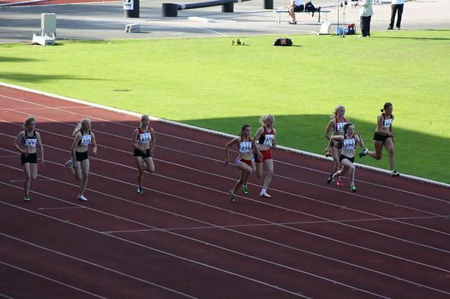 100m finaali