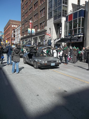 DeLoreans of St. Patrick's Day (1)