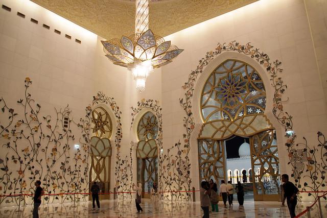 La espectacular Mezquita Sheikh Zayed en Abu Dabi 8567456396_b8f36cd093_z