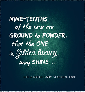 quote: Nine-tenths of the population are ground to dust.