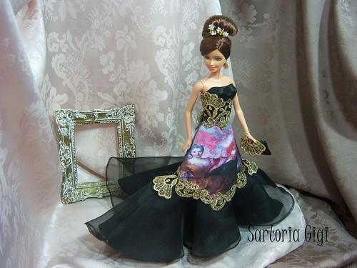 Ooak Barbie Barroco (2) by Sartoria Gigi