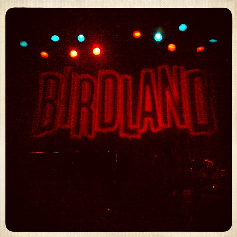 The wonderful Birdland last night for #castpartynyc