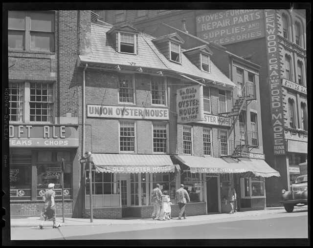 Boston Restaurants Storefronts Mexican Grill Chinese Food