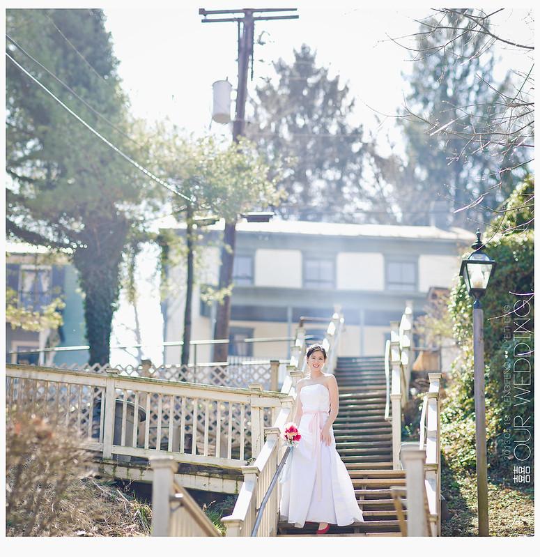 自己拍。。。結婚照?放七張了。