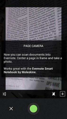 Evernote 5.0 для Android