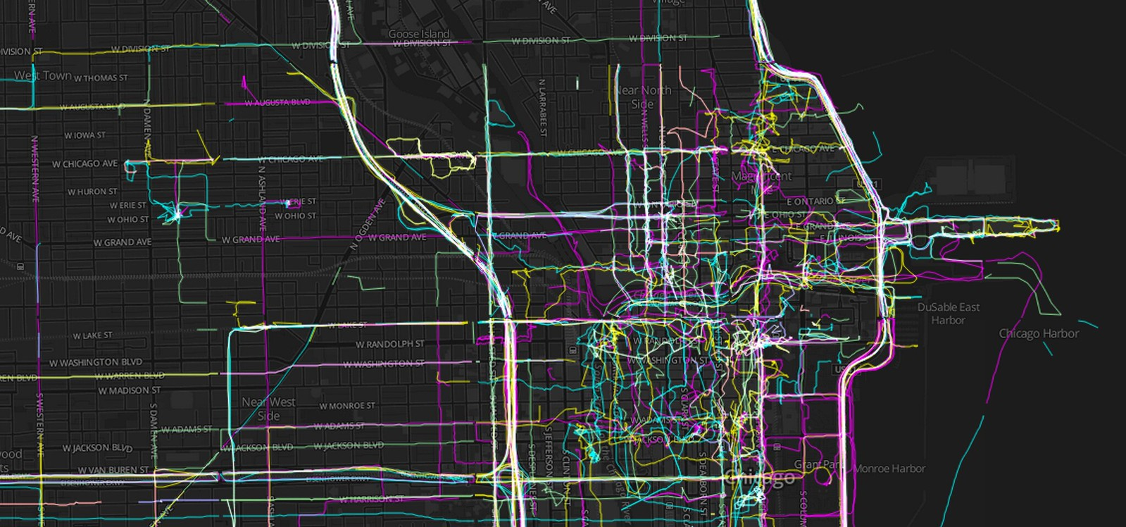Chicago GPX Tracks