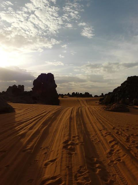 Libya - cross roads