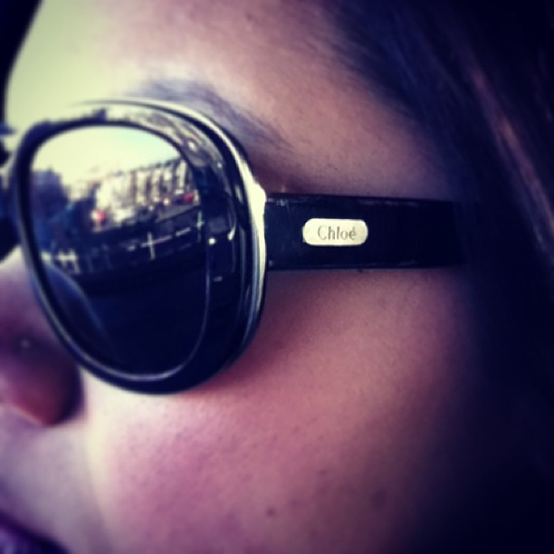 Love finding long lost sunglasses circa 2009 #tbt #iheartchloe #futuressobright #throwbackthursday