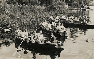 Brundall House WW1 Hospital rowing boats