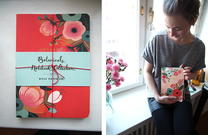 botanical notebooks collection
