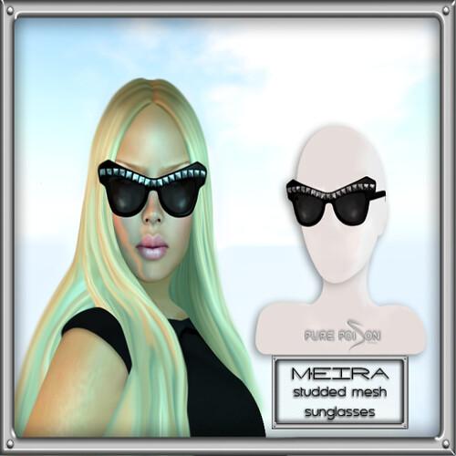 PP - Meira Mesh Sunglasses Silver