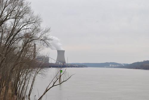 ohioriver coolingtower powerplants