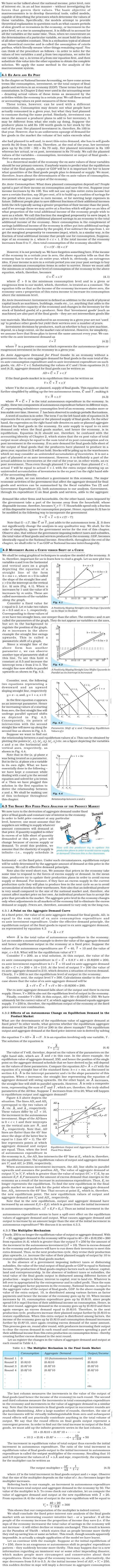 NCERT Class XII Economics Macroeconomics - Income Determination