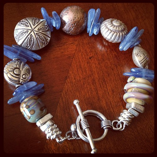 March #artjewelryelements component of the month design challenge reveal #ajecom Jennifer Cameron glass addictions