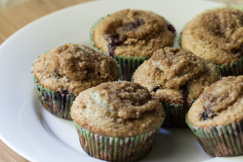 Blueberry Muffins-4